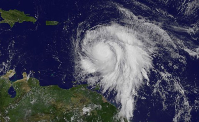 NASA Hurricane Maria
