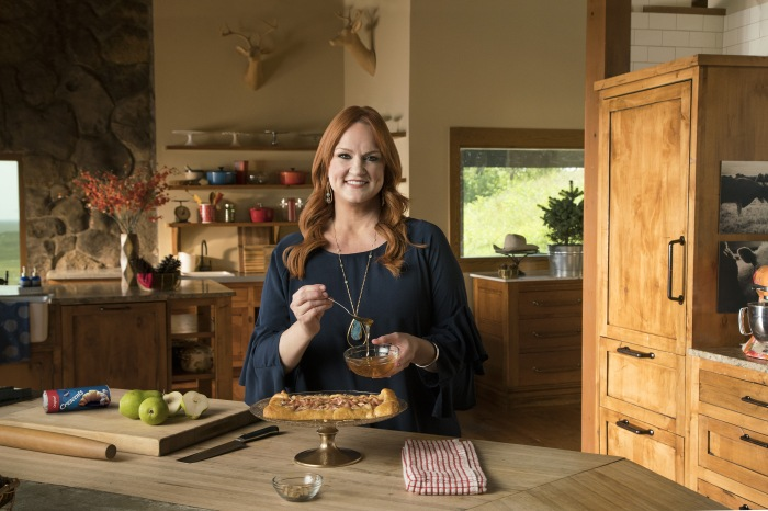 Ree​ ​Drummond​ ​presents​ ​her​ ​Rustic​ ​Pear​ ​and​ ​Almond​ ​Tart,​ ​for​ ​Pillsbury.