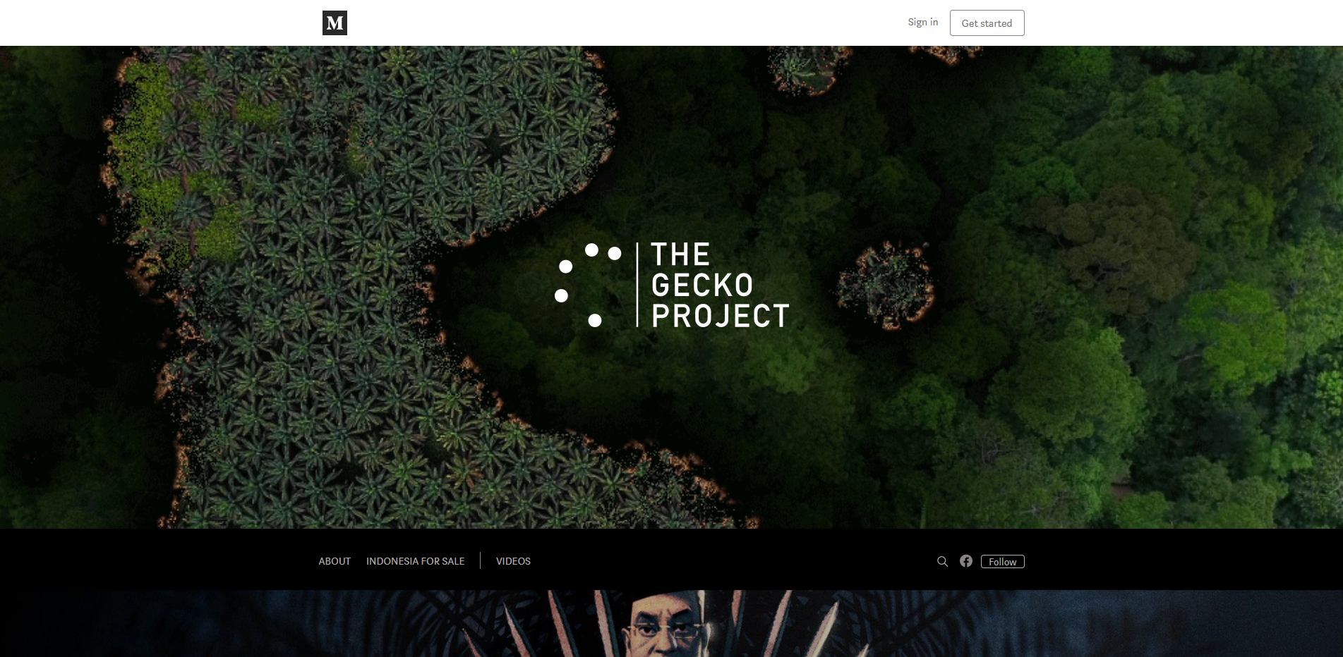 The Gecko Project website