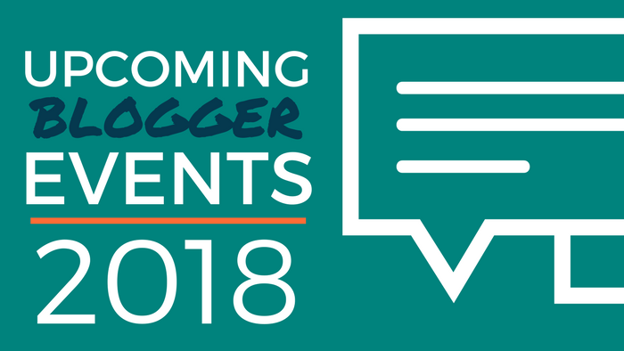 Blogger Events 2018