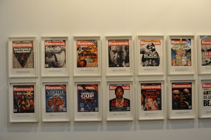 Showcase of Newsweek Magazines