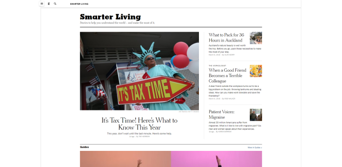 Smarter Living The New York Times