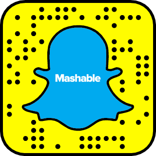 Mashable on Snapchat