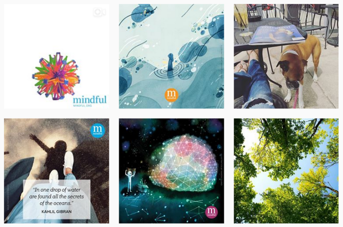 6 recent posts from @mindfulmagazine on Instagram
