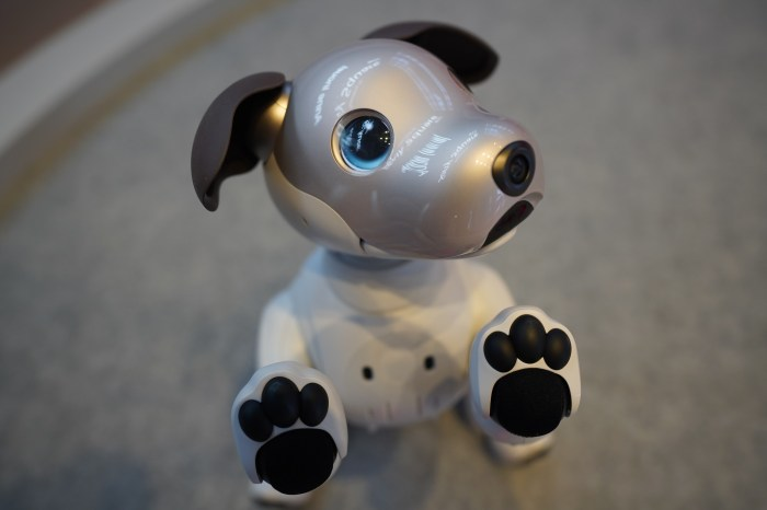 Sony blue-eyed aibo