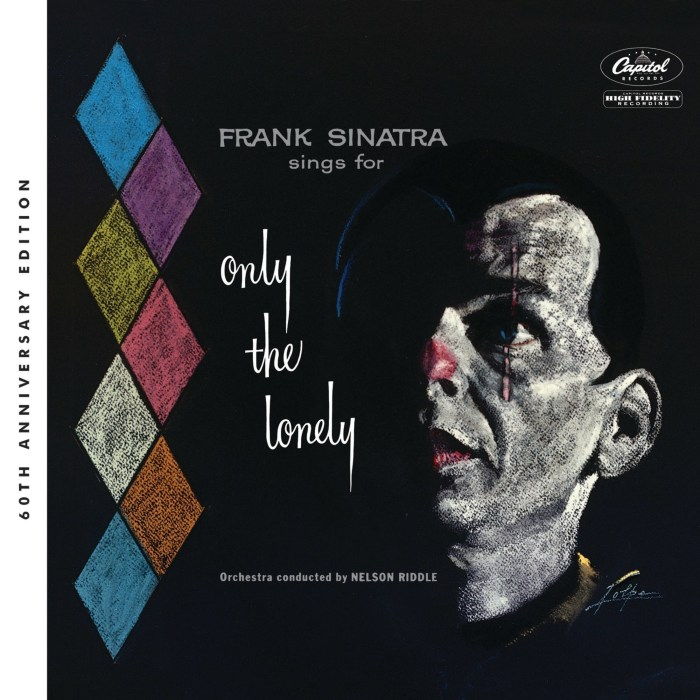 Frank Sinatra Sings For Only The Lonely cover