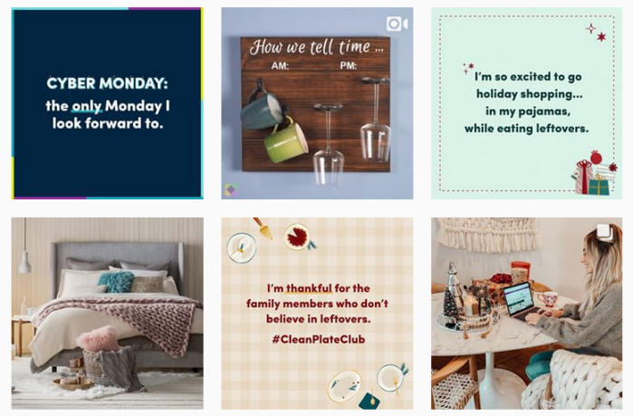 Recent posts from @wayfair on Instagram