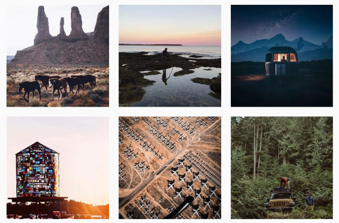 Travel News Sites: @roadtrippers on Instagram
