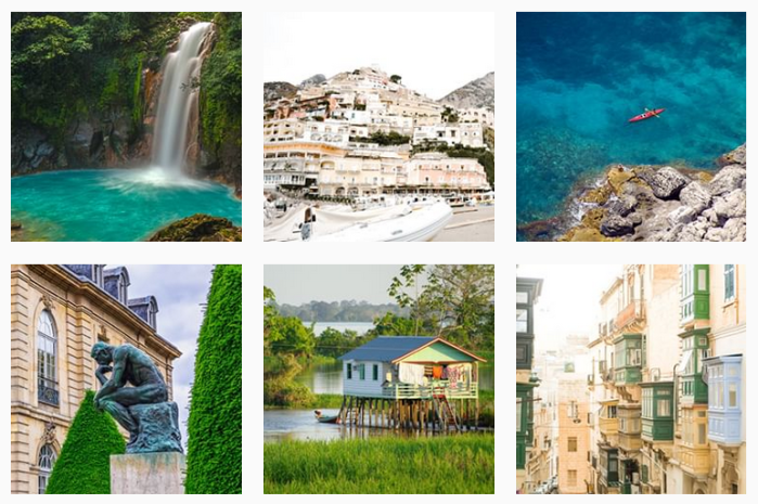Travel News Sites: @smartertravel on Instagram