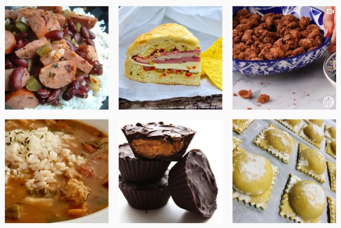 Food and Recipe Blogs We Love: @allrecipes on Instagram