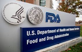FDA sign in front of a building