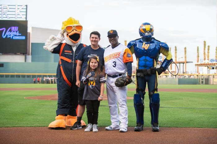 Las Vegas Aviators opening game at Las Vegas Ballpark