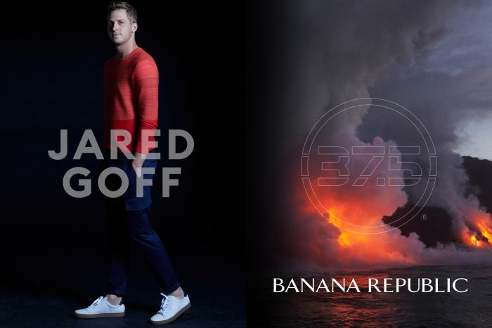 Jared Goff for Banana Republic