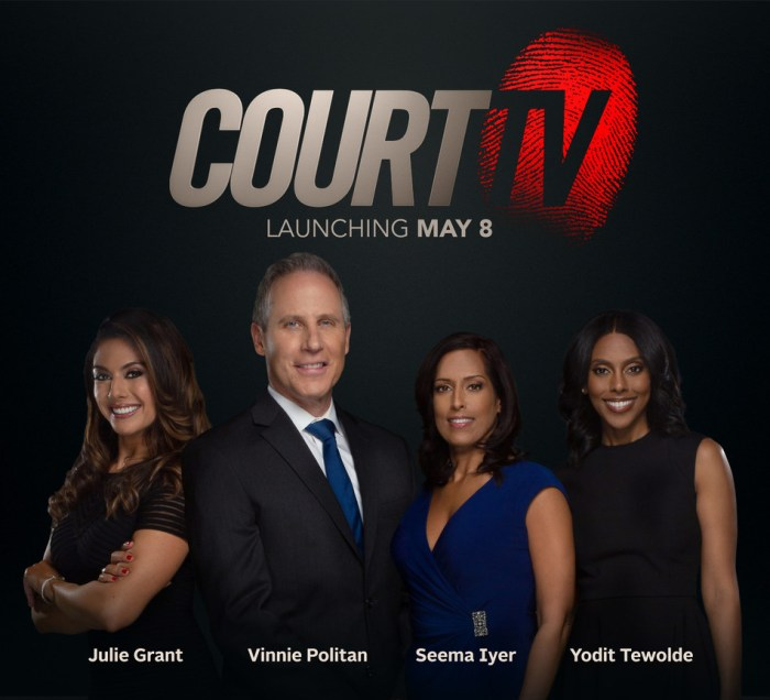 CourtTV Launching May 8