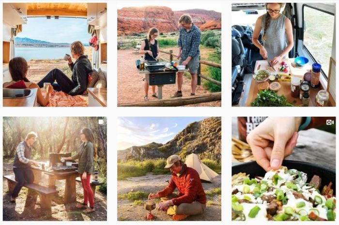 Camping Blogs We Love: @freshoffthegrid on Instagram