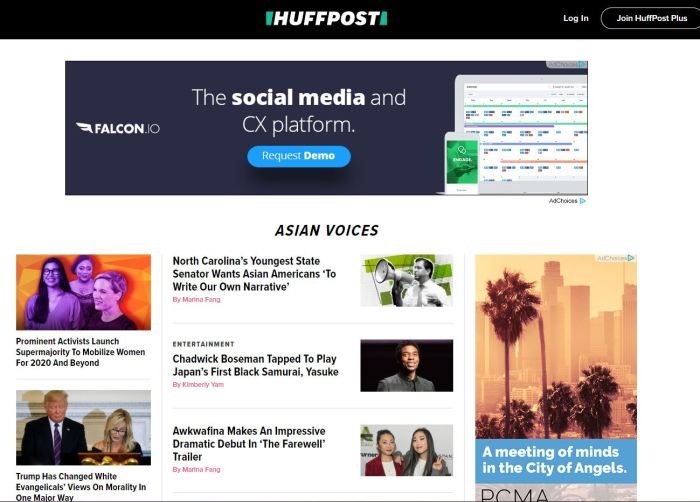 Top Asian American News Sites: HuffPost | Asian Voices