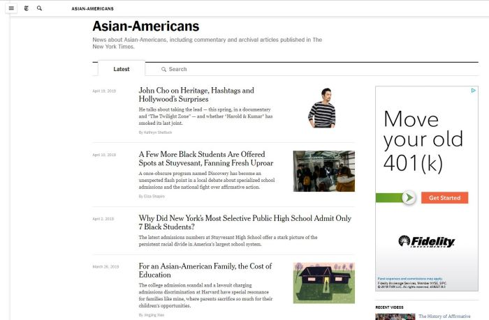 Top Asian American News Sites: New York Times | Asian-Americans