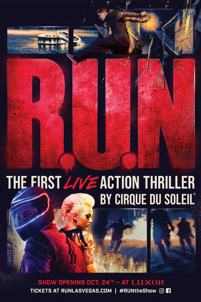 R.U.N - The first live action thriller by Cirque du Soleil