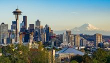 Seattle Washington downtown skyline
