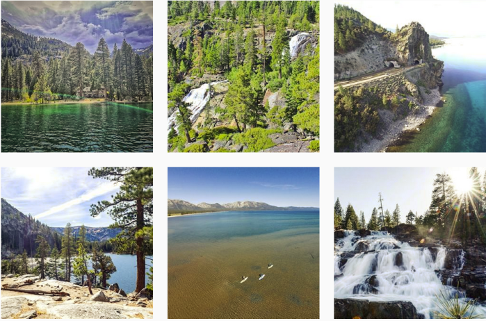 Lake Blogs We Love: @tahoesouth on Instagram