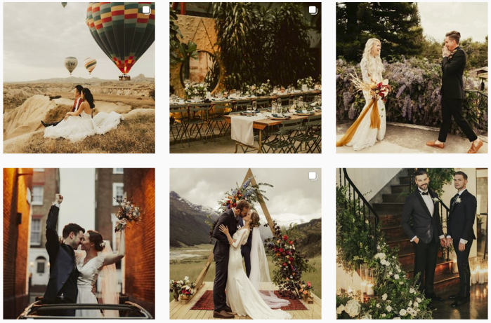 Wedding Photography Blogs We Love: @junebugweddings on Instagram