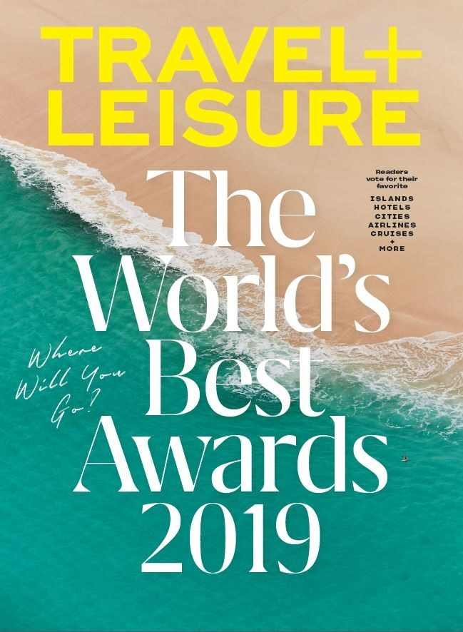 Meredith Corporation Travel Leisure The World's Best Awards 2019