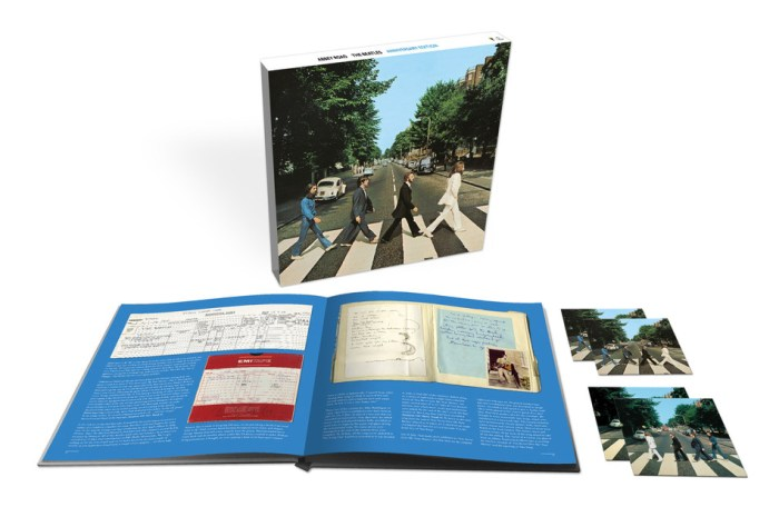 Super Deluxe product shot Abbey Road Anniversary Edition