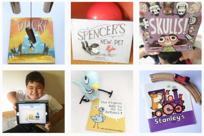 Education and Learning Blogs: @growingbookbybook on Instagram