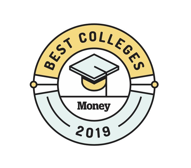 Meredith Corporation Best Colleges For Your Money 2019 Badge