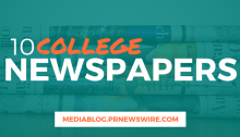 10 College Newspapers - mediablog.prnewswire.com