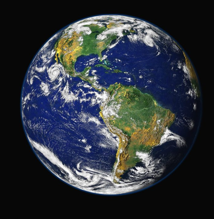 Image of Earth from space