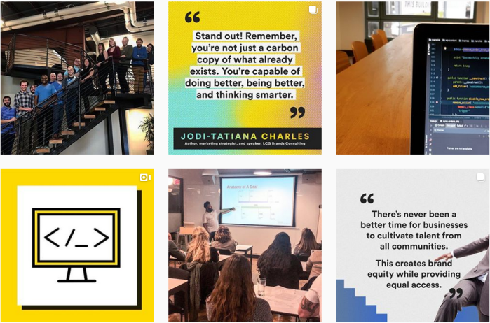 Career Networking Blogs We Love - @generalassembly on Instagram