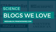 Science Blogs We Love - mediablog.prnewswire.com