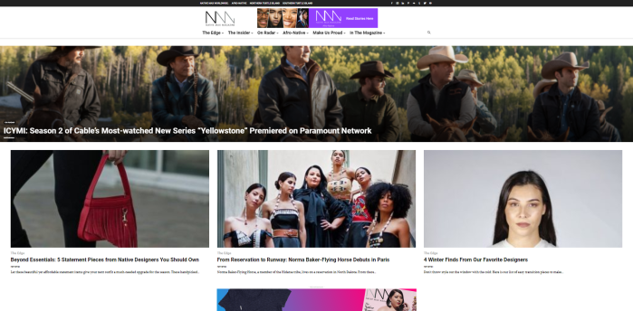 Top Native American News Sites - Native Max Magazine