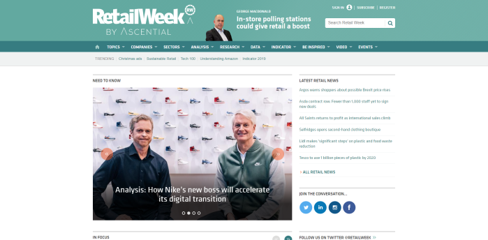 Top Retail News Sites - Retail Week