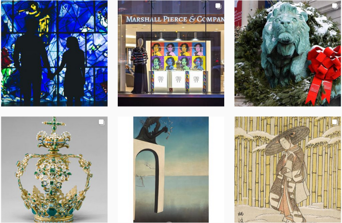 Art Museum Blogs We Love - @artinstitutechi on Instagram