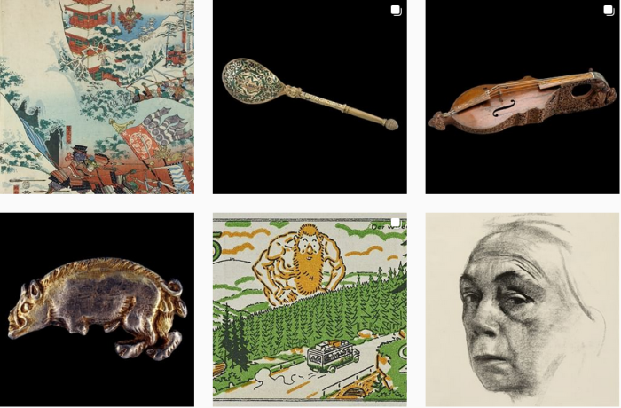 Art Museum Blogs We Love - @britishmuseum on Instagram