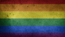 picture of the rainbow flag