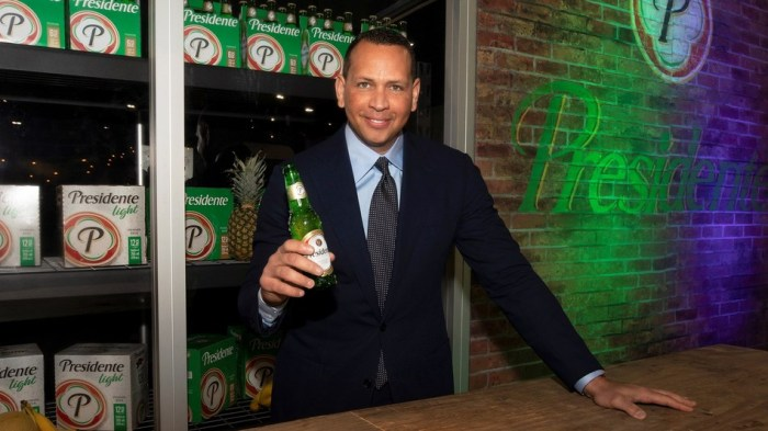 Anheuser-Busch, Presidente Beer partner with Alex Rodriguez