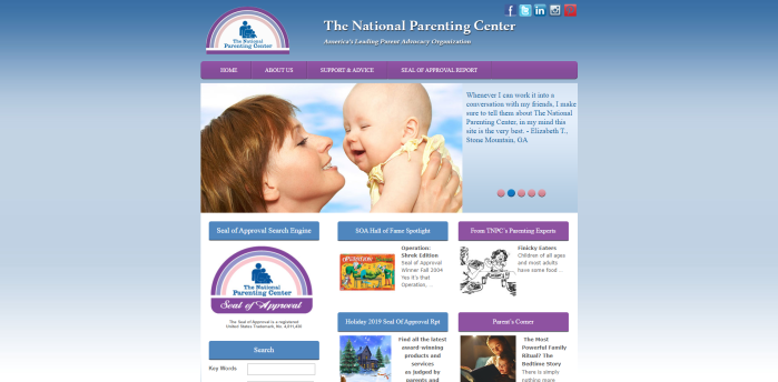 Parenting News Sites - The National Parenting Center