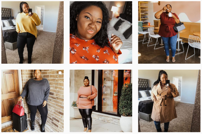 Fashion Blogs We Love - @fromheadtocurve on Instagram