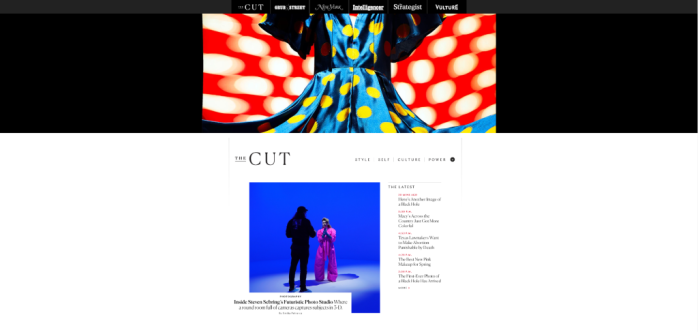 Women's Interest News Sites - The Cut