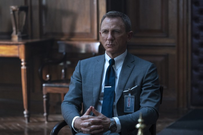 On PR Newswire - March 6 2020 - Daniel Craig as James Bond dressed in Tom Ford