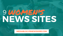 9 Women's News Sites - mediablog.prnewswire.com