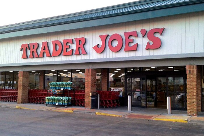 On PR Newswire - March 6 2020 - Exterior of Trader Joe's grocery store