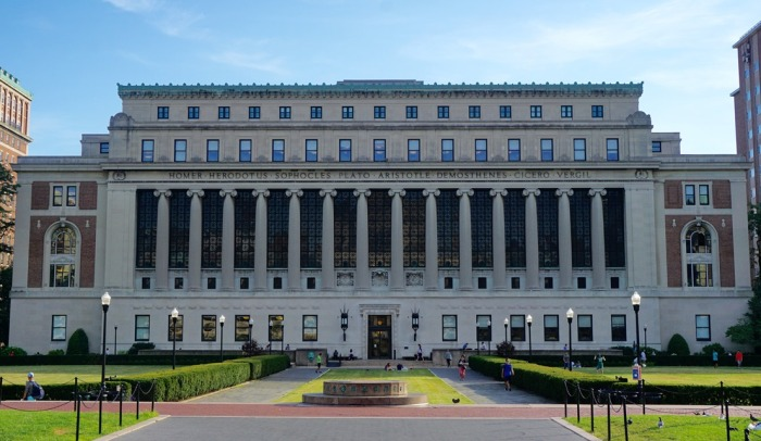 Columbia Business School building exterior