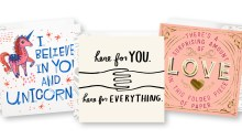 Three pack of Hallmark cards