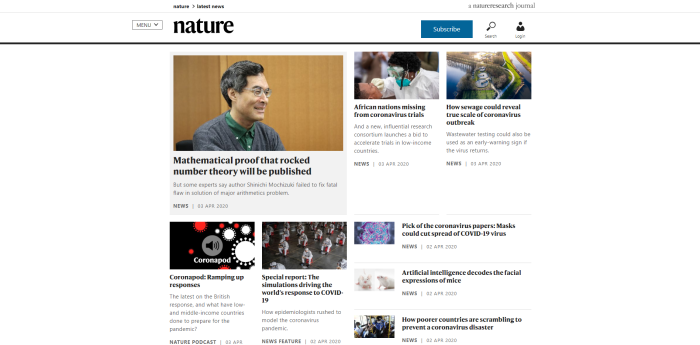 Top Environmental News Sites - Nature