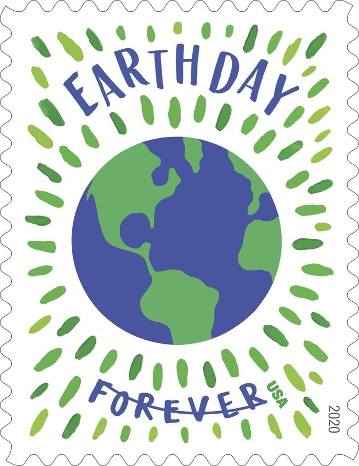 US Postal Service Earth Day Forever Stamp