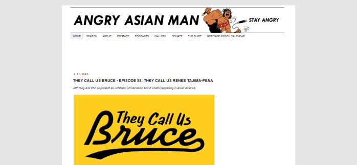 Angry Asian Man homepage